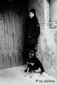Johanna und Hund